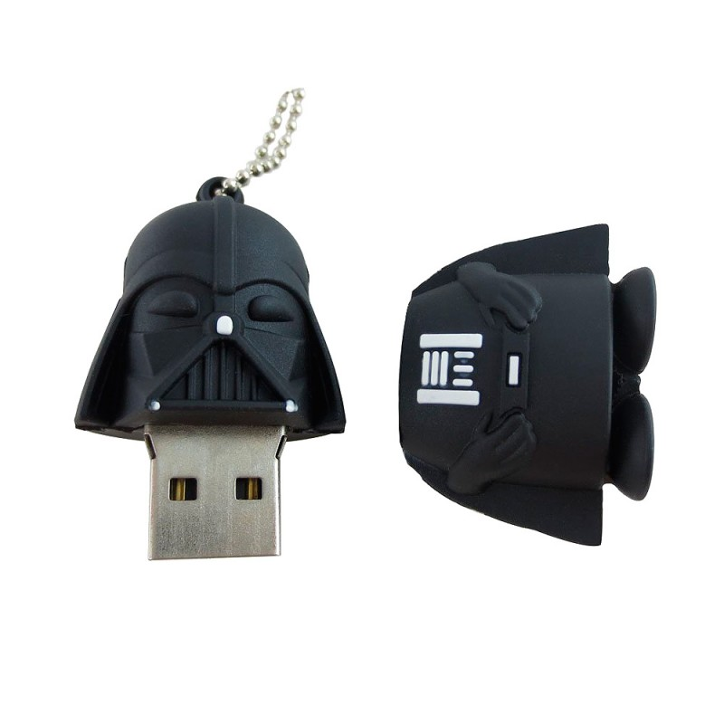 darth vader star wars usb flash drive 16gb. Black Bedroom Furniture Sets. Home Design Ideas